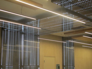 LED light panel application example