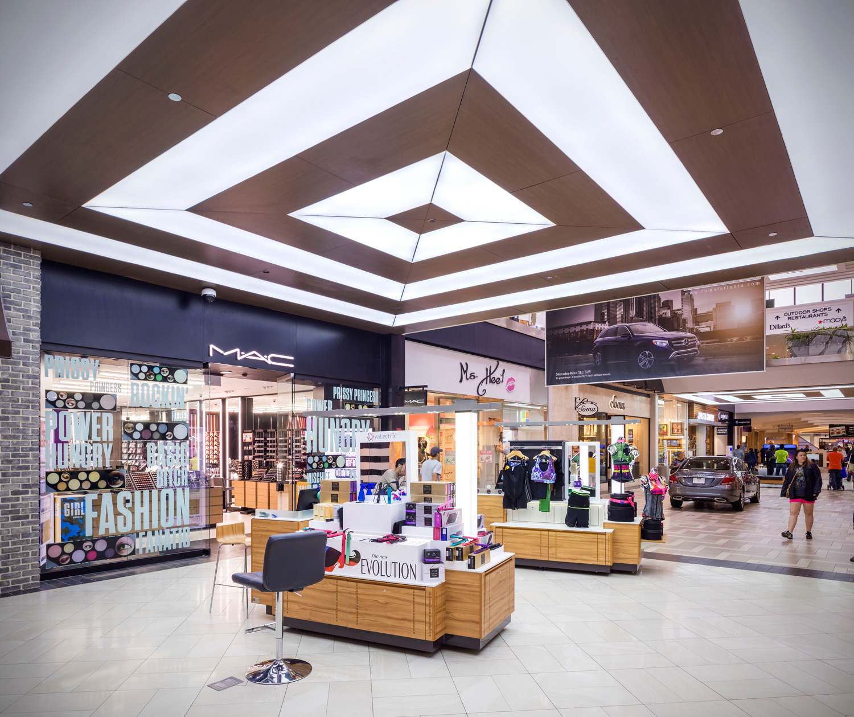 Atlanta Landscaping Portfolio: Concentric Luminance At Perimeter Mall Atlanta
