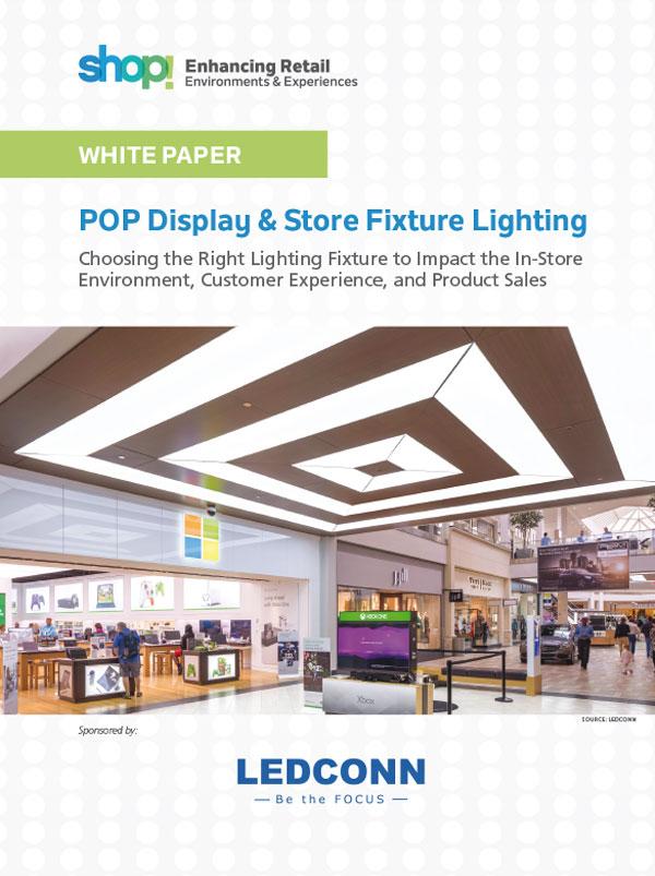POP Display & Store Fixture Lighting Whitepaper