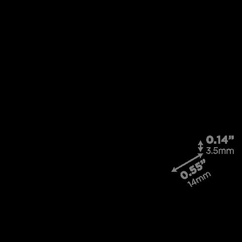 LEDCONN LUXLINEAR LED LIGHT TUBE MAGNETIC 1408M---DIFFUSER-LENS-VECTOR_500x500px