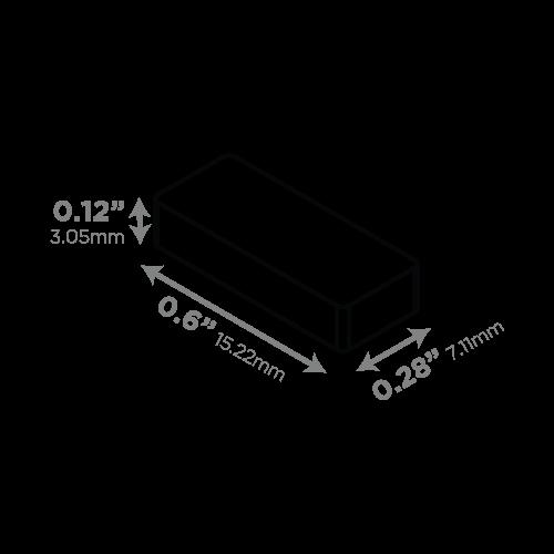 LEDCONN LUXLINEAR LED LIGHT TUBE MAGNETIC 1408M-Magnetic_Magnet_500x500px