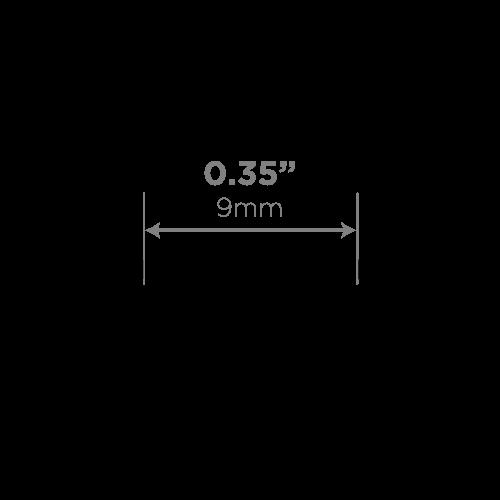 LEDCONN LUXLINEAR 1513M MAGNETIC LED LIGHT TUBE -CHANNEL-CROSSSECTION-VECTOR-CHANNELDIMENSIONS_500x500px