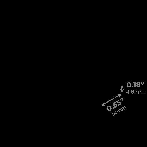 LEDCONN LUXLINEAR 1513M MAGNETIC LED LIGHT TUBE-DIFFUSER-LENS-VECTOR_500x500px