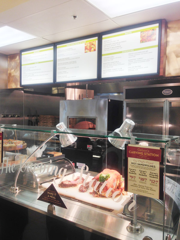 Gelson's Illuminated Menu Boards