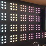 Illuminated RGB Wall
