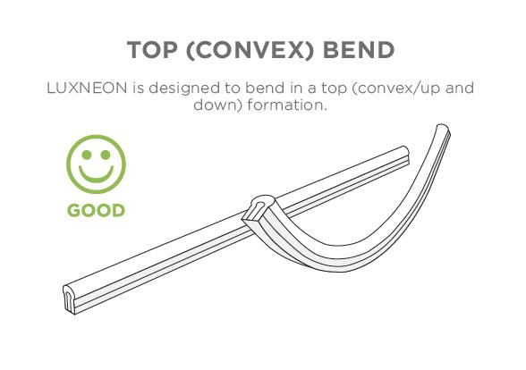 convex bend